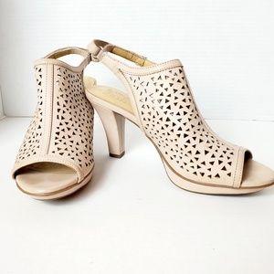 Stuart Weitzman Heel Platform Sandal Sz 8.5